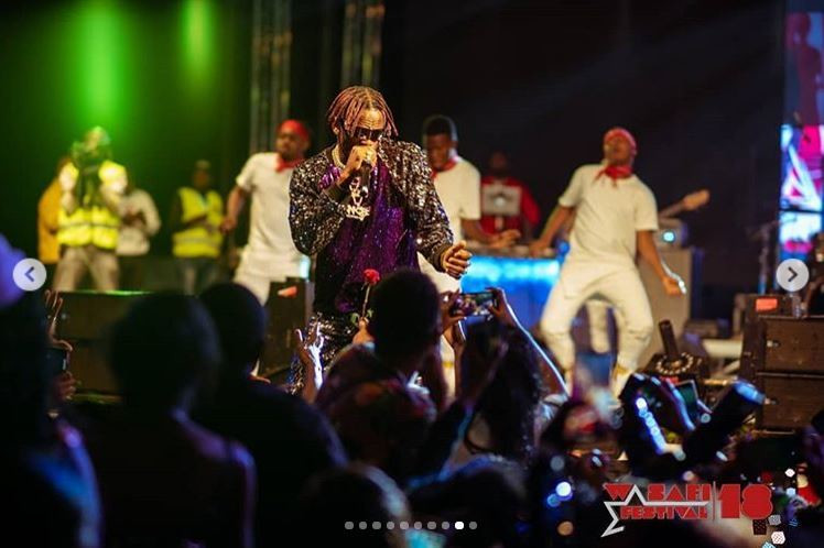 Diamond and his WCB crew bring Nairobi to standstill