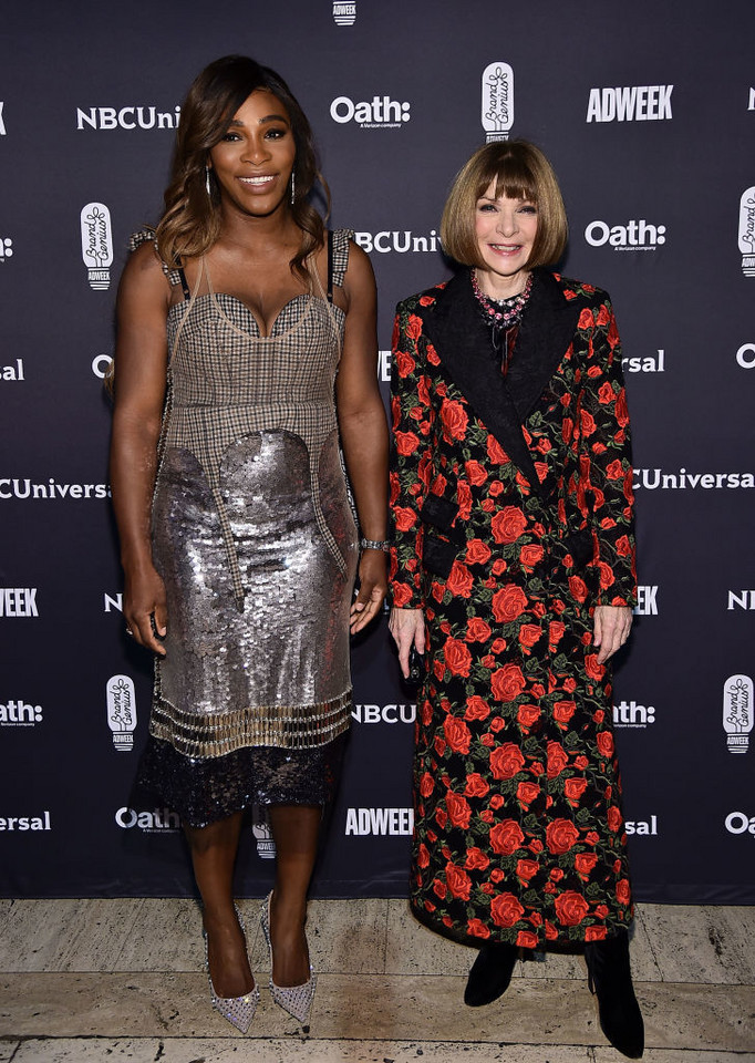 Serena Williams i Anna Wintour