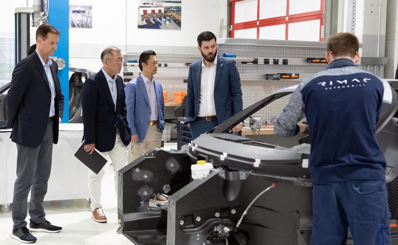 Hyundai Motor Group i Rimac Automobili rozpoczynają strategiczne partnerstwo