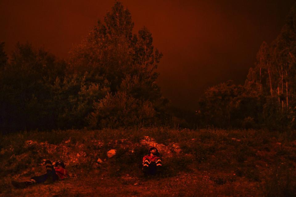 Wielkie pożary lasów w Portugalii. Wzrosła liczba ofiar