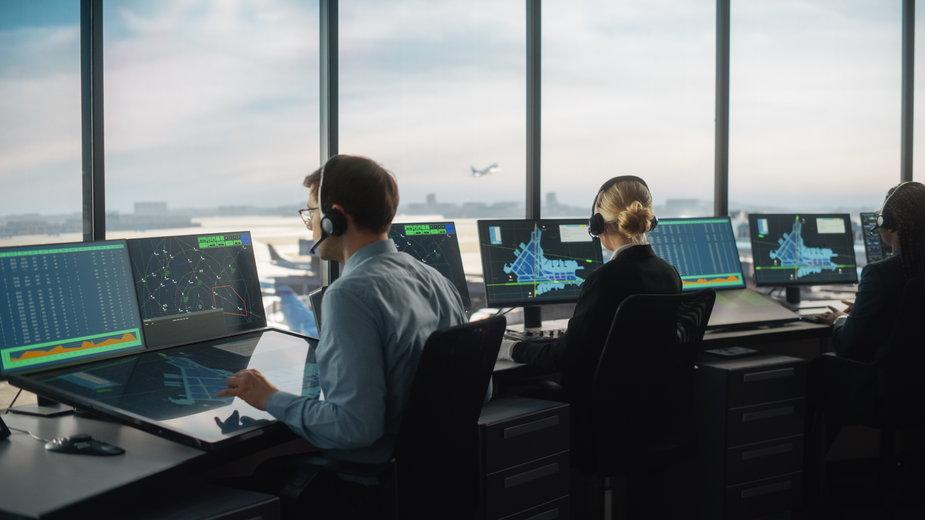 Kontrolerzy lotów