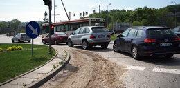 Kierowcy oburzeni. Gdańsk ociąga się ze sprzątaniem ulic po ulewach!