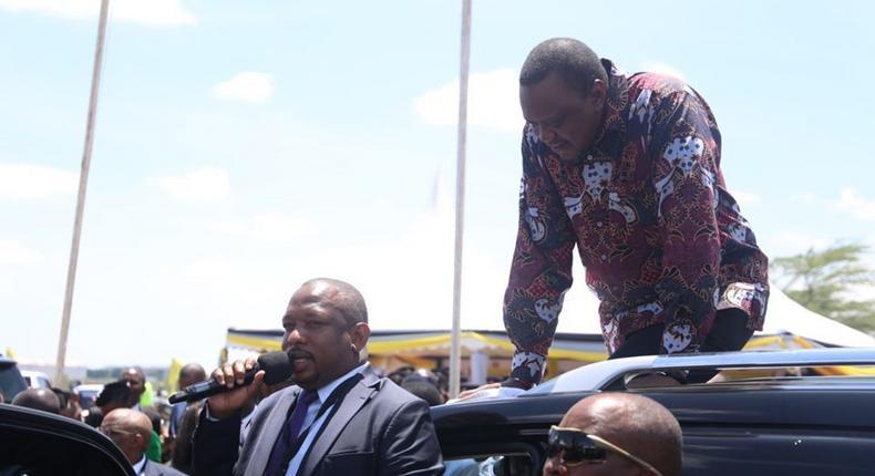 Governor Mike Sonko invites President Uhuru Kenyatta to take up running Nairobi county Revenue and Planning departments under National Government