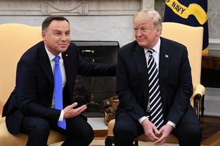 Spotkanie Duda-Trump. Prezydent USA: Rozważamy stałe bazy w Polsce, myślimy poważnie o zniesieniu wiz