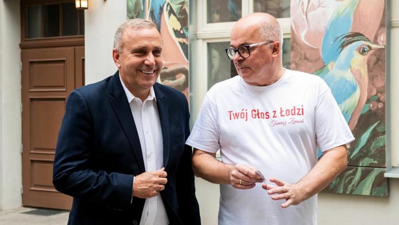 Grzegorz Schetyna i Tomasz Zimoch