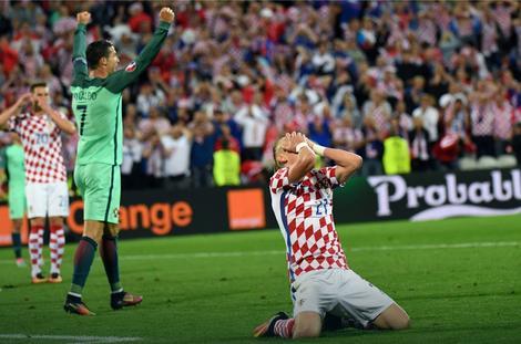 Fudbalska reprezentacija Hrvatske posle eliminacije sa EURO2016