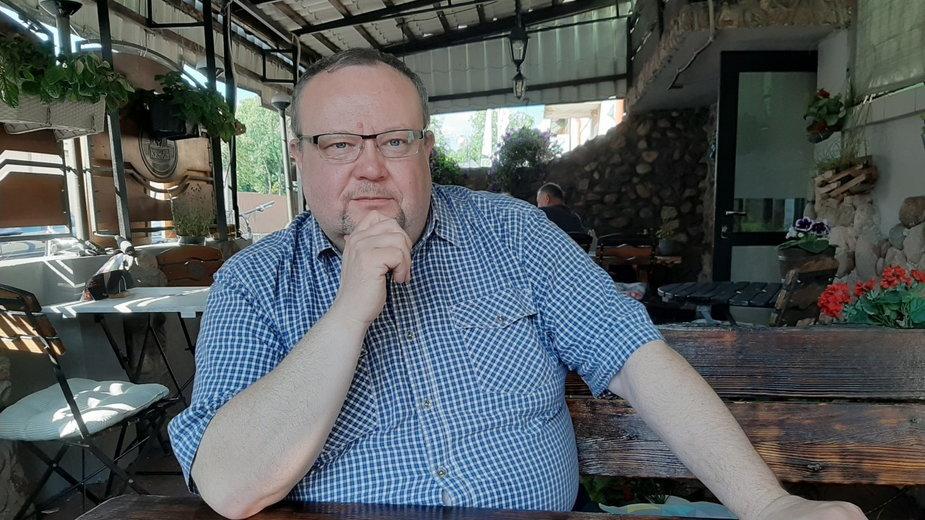Mariusz Godlewski, burmistrz Miasta Raciąż