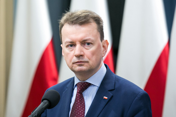 PO składa wniosek o odwołanie Mariusza Błaszczaka