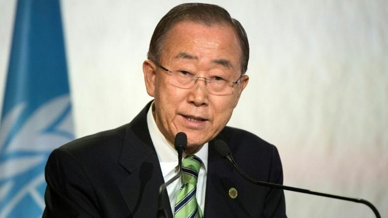 "United Nations Secretary-General Ban Ki-moon said three times--in Haitian Creole, French and English--""On behalf of the United Nations, I want to say very clearly we apologize to the Haitian people"""