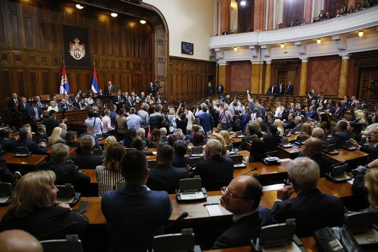 Skupština Srbije, Aleksandar Vučić, Kosovo, Sednica