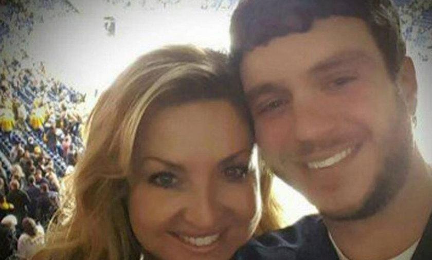 Sonny Melton osłonił żonę przed ostrzałem