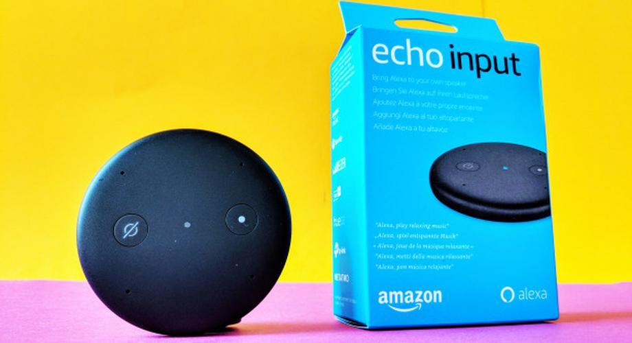 Test Amazon Echo Input: Smart Speaker wird Smart Mikrofon