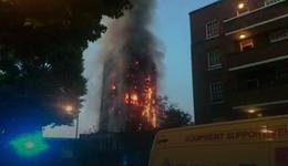 Pożar 27-piętrowego wieżowca w Londynie. Co najmniej sześć ofiar