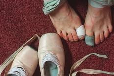 balerina stopala screenshot instagram darianvolkova