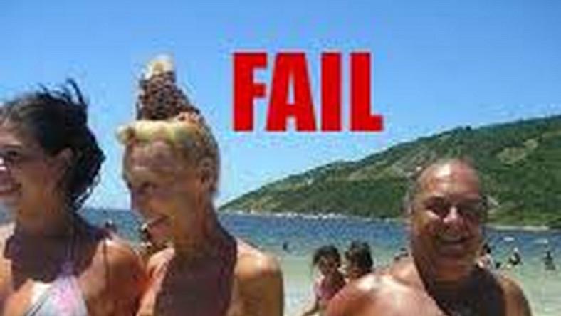 Plażowe wpadki