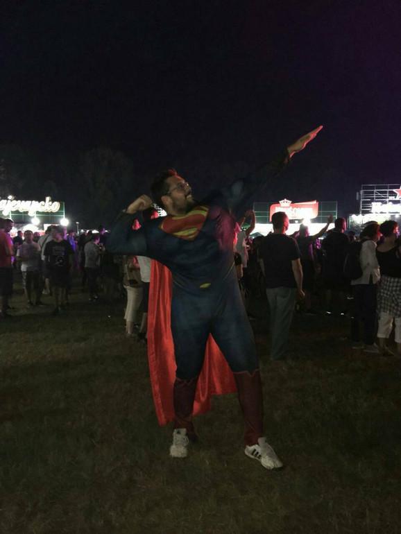 Supermen na festivalu