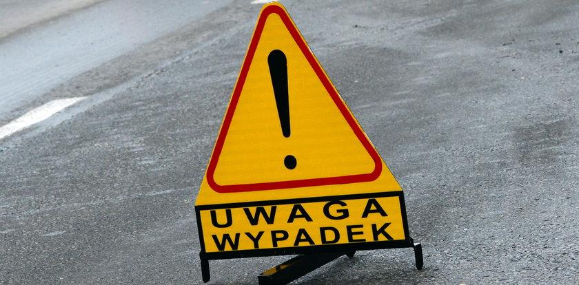 Wypadek w Jarostach. Ranne dzieci