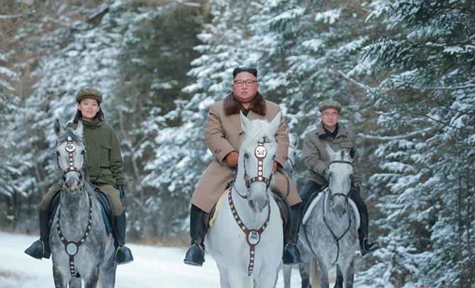 Kim Džong Un u pratnji sestre