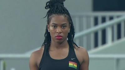 Ghana's Nadia Eke sets new national record to qualify for World Champs