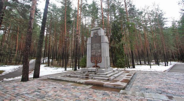 Pomnik upamiętniający śmierć wileńskich Żydów w czasie II wojny światowej