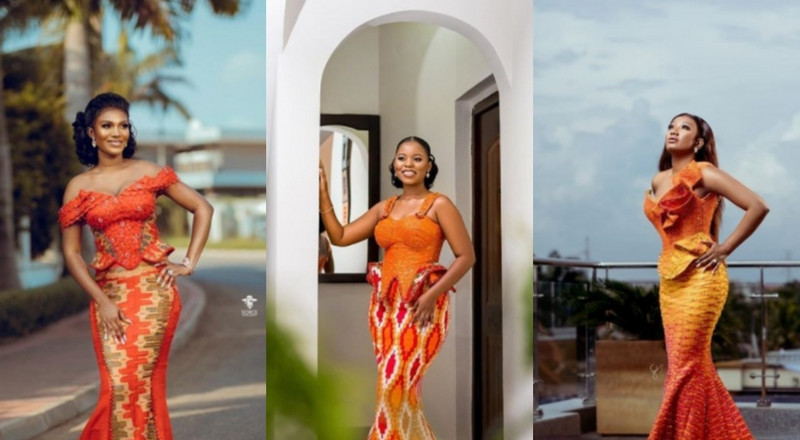 6 perfect orange kente colour combo we have seen in 2020