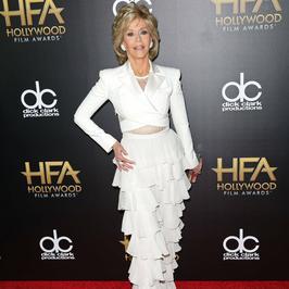 78-letnia Jane Fonda prezentuje się znakomicie