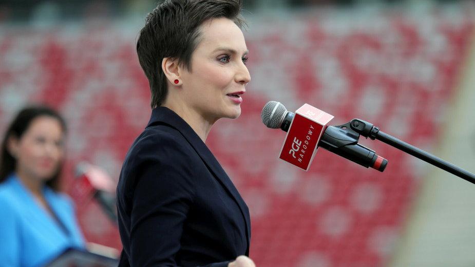 Prezeska Polskiego Radia Agnieszka Kamińska