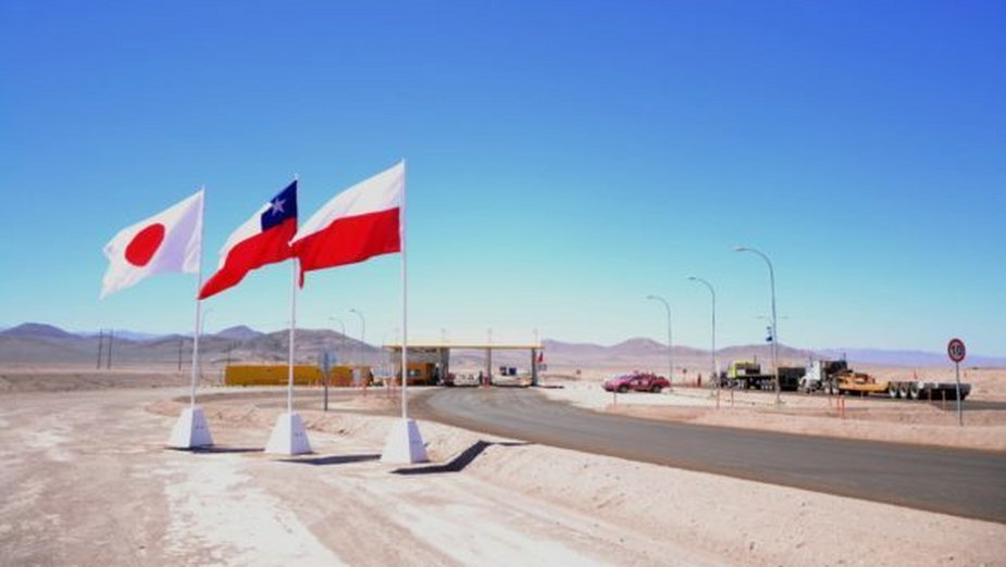 Kopalnia Sierra Gorda w Chile. Fot.: MSP.