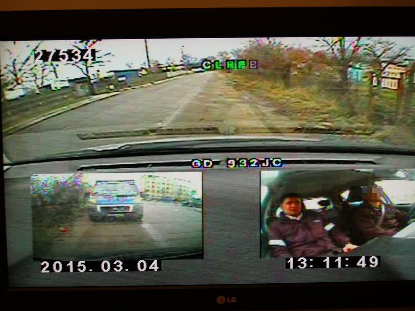 Kandydat na kierowcę po pijaku przyszedł na egzamin