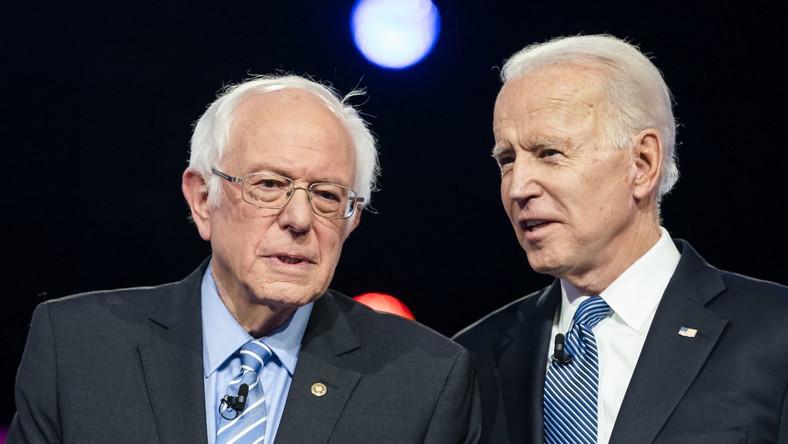 Bernie Sanders i Joe Biden