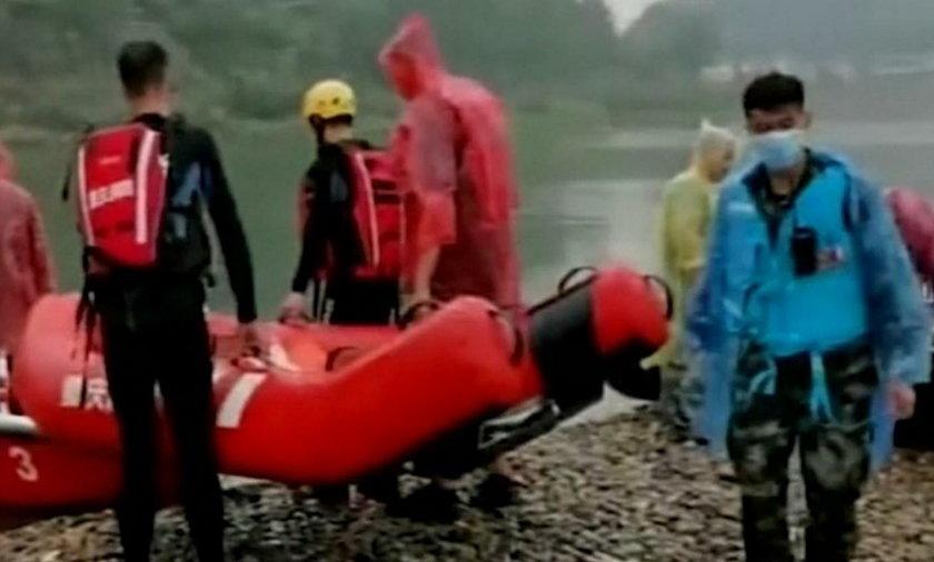 Dramat w Chinach. Ośmioro dzieci utonęło w rzece