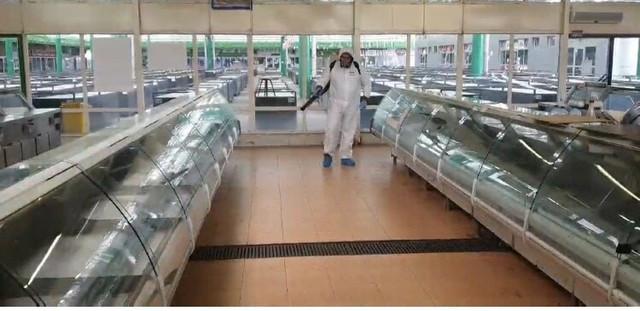 Dezinfekcija na svim tržnicama