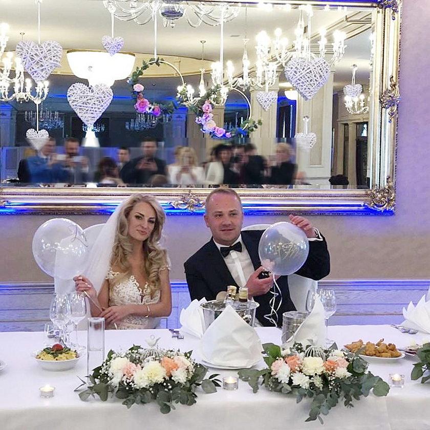 Anita Szydłowska i Adrian Szymaniak