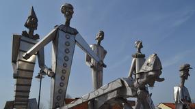 Niezwykłe rzeźby trafiły do podczęstochowskiego Olsztyna