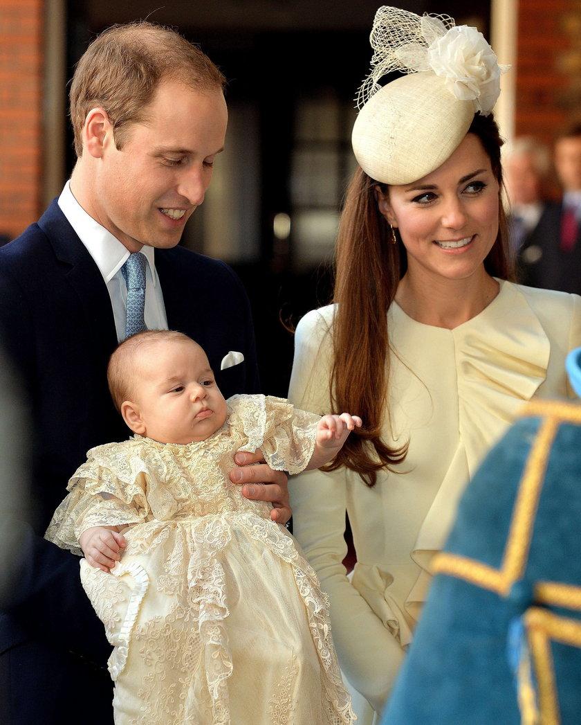 William, Kate i George
