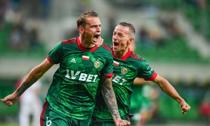 Pilka nozna. Liga Konferencji Europy. Slask Wroclaw - Ararat Erewan. 29.07.2021