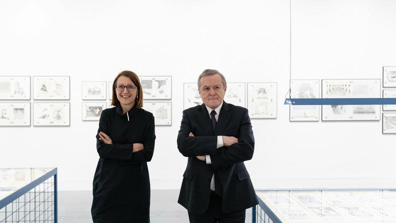 Hanna Wróblewska, Piotr Gliński