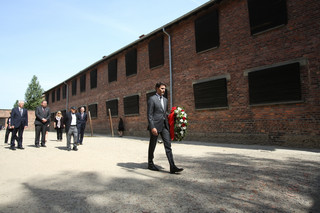 Kanadyjski premier Justin Trudeau zwiedził Muzeum Auschwitz
