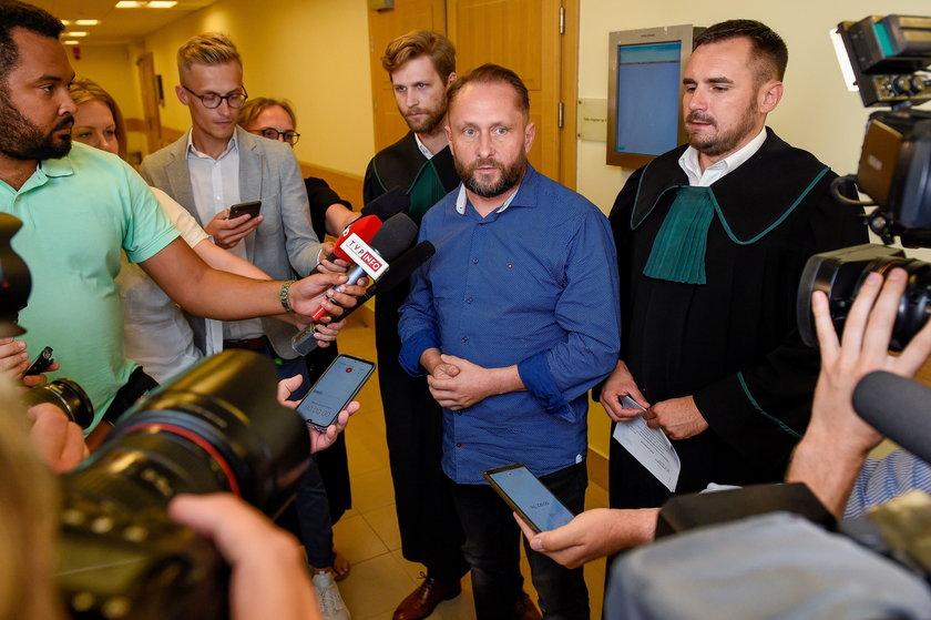 Katowice: posiedzenie ws. aresztu dla Kamila Durczoka
