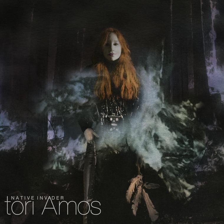 """Tori Amos """"""""Native Invader"""""""" - okładka płyty"""