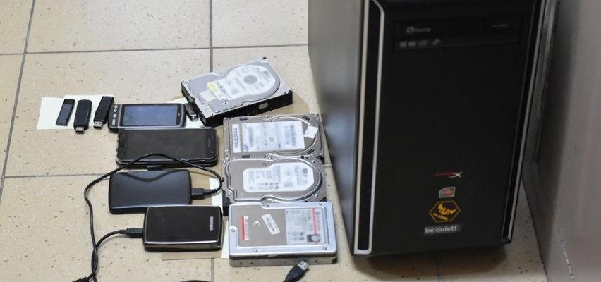 Straszna zawartość komputera 41-latka z Rzeszowa. Grozi mu wieloletnie więzienie