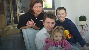 Beata i Krzysztof Nowak z dziećmi