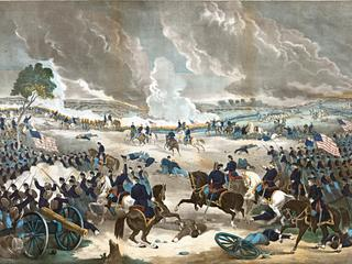American Civil War 1861-1865: Battle of Gettysburg 1-3 July 1863, ending Lee's invasion of the North
