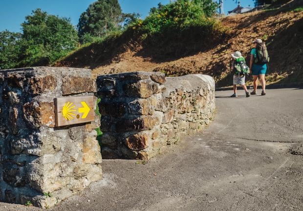 Na trasie Santiago de Compostela.