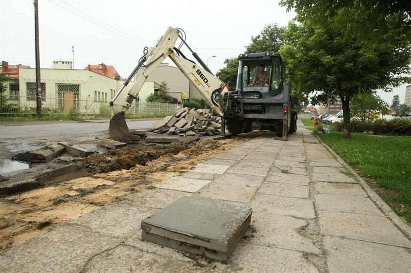 Remont chodników w Poznaniu