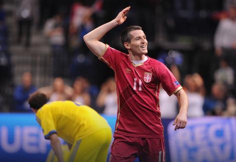 Junak Miloš Simić, strelac čarobnog gola za pobedu u poslednjoj sekundi