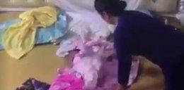 Wstrząsające nagranie. Niania pobiła niemowlę, bo nie chciało przestać płakać