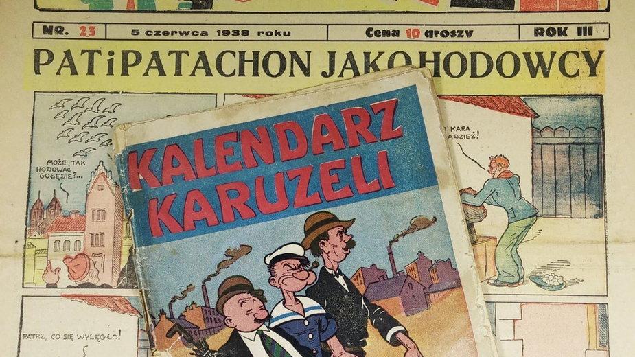 Komiksy Wojciecha Jamy