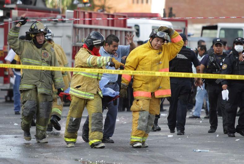 Zginęło co najmniej 40 osób