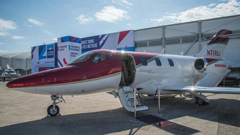 I checked out Honda's $5 million private jet, one of the